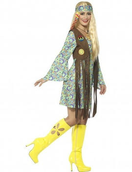 Smiffy's 60s hippie dress adult costume