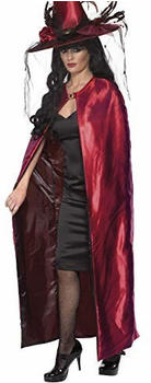 Smiffy's Red witch adult cape
