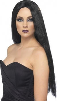 Smiffy's Witch Black Wig 25880