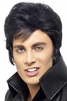Smiffy's Elvis Presley black adult wig