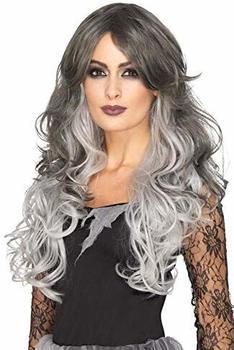 Smiffy's Deluxe Ghotic Bride Wig grey