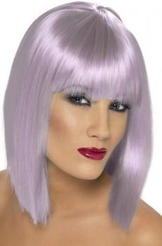 Smiffy's Short violet adult wig