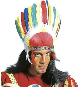 Widmann Indianischer Kopfschmuck