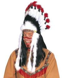 Widmann Raging Bull Indianer-Kopfschmuck