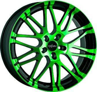 Oxigin 14 Oxrock (10x22) Neon Green Polish