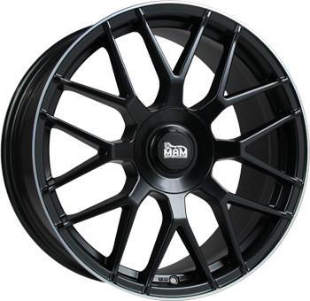 MAM GT1 (8.5x19) schwarz