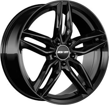 GMP Fasten 7,5x17 Black Glossy