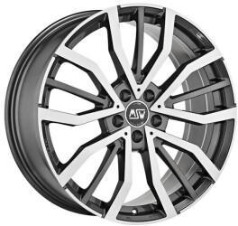MSW Wheels MSW 49 (8x18) gunmetal glänzend poliert