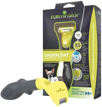 FURminator DeShedding-Fellpflegewerkzeug für kurzhaarige sehr kleine Hunde
