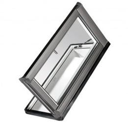Roto WDA R38 Kunststoff Designo R3 Dachausstieg links blueLine Plus Aluminium 6/11 (65x 118 cm)