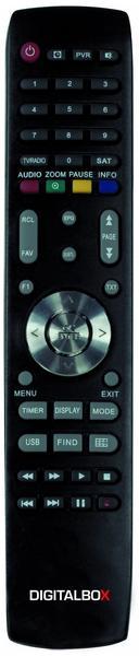 Imperial DigitalBox Fernbedienung für IMPERIAL HD 3 K, schwarz