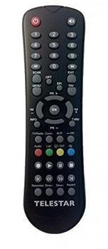 TELESTAR Fernbedienung für SSC1/TSC1+/HDS10/SR/TR-Serie, schwarz