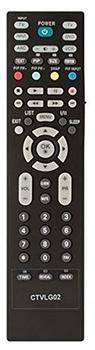Common TV ctvlg02–Universal-Fernbedienung (Kompatibel mit LG TV) schwarz