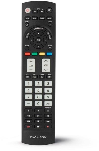 Thomson ROC1128PAN Ersatzfernbedienung für Panasonic TVs schwarz