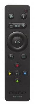QNAP RM-IR004 IR Wireless Drucktasten Schwarz