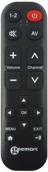 Geemarc TV-15 universelle Fernbedienung Schwarz