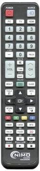 NIMO Samsung Universal Fernbedienung NIMO MAN3070 Universal-Fernbedienung für Schwarz