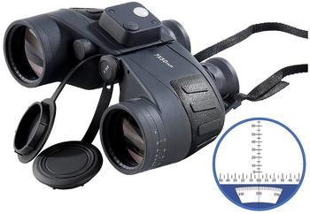 Zavarius Marine-Fernglas FG-500.bM, 7 x 50, mit Kompass & Entfernungsmesser