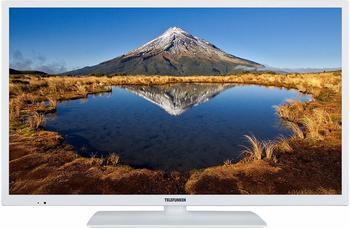 """Telefunken XH32E411-W 81 cm 32"""" Zoll) Fernseher HD ready, Smart TV, Triple Tuner, weiß"""