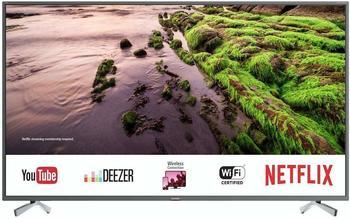 Sharp 4K Ultra HD Smart LED TV, 123 cm (49 Zoll), Harman/Kardon Soundsystem, 3 HDMI Anschlüsse, LC-49UI8652E, Schwarz,