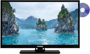 Telefunken Xf-22E101D, LED-Fernseher, schwarz, FullHD, Triple Tuner, Hdmi, DVD-Player