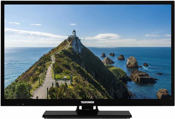 Telefunken Xf-22E101, LED-Fernseher, schwarz, FullHD, Triple Tuner, Hdmi, CI+