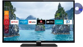 Telefunken XH32G511D LED-Fernseher schwarz, SmartTV, WXGA, WLAN, Triple Tuner, DVD