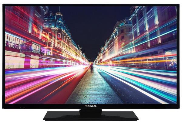 Techwood H32T52C 81 cm (32 Zoll) Fernseher HD-Ready, Triple-Tuner, Smart TV,
