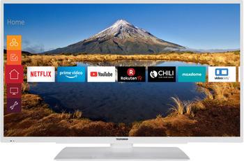 Telefunken XF40G511-W, LED-Fernseher weiß, HDMI, FullHD, Triple Tuner, Alexa