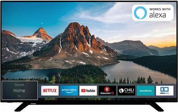Toshiba 58U2963DG, LED-Fernseher schwarz, UltraHD, Triple Tuner, WLAN, SmartTV