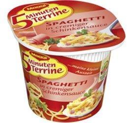 Maggi Appliances 5 Minuten Terrine Spaghetti in cremiger Schinkensauce