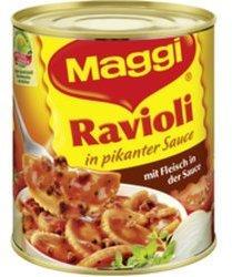 Maggi Ravioli in pikanter Sauce (6x800g)