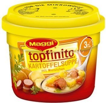 Maggi Appliances Topfinito: Kartoffelsuppe mit Würstchen (380g)