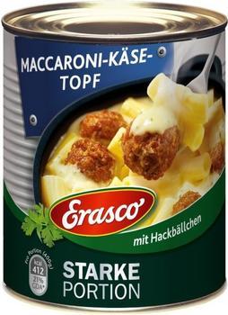 Erasco Starke Portion: Maccaroni-Käse-Topf