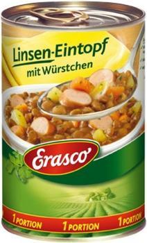 Erasco Linsen-Eintopf mit Würstchen (400 g)