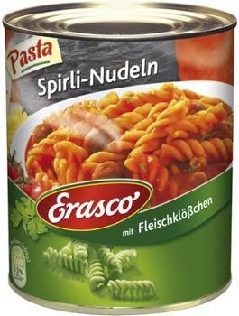 Erasco Pasta: Spirli-Nudeln mit Fleischklößchen