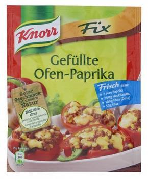Knorr Fix für Gefüllte Ofen-Paprika