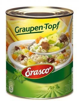 Erasco Graupentopf