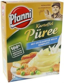 Pfanni Kartoffel Püree mit entrahmter Milch