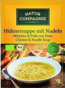 Natur Compagnie Hühnersuppe mit Nudeln (40g)