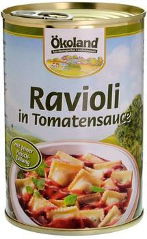 Ökoland Ravioli in Tomatensauce (400 g)