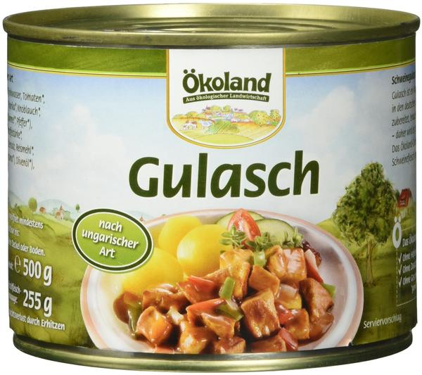 Ökoland Gulasch nach ungarischer Art