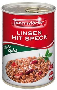 Inzersdorfer Linsen mit Speck (400 g)