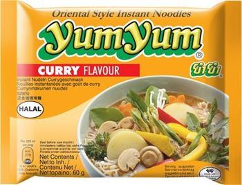 Yum Yum Instantnudeln Curry (60 g)