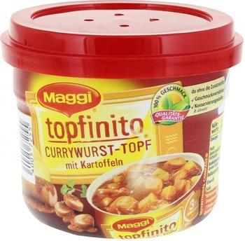 Maggi Topfinito Currywurst-Topf mit Kartoffeln (380 g)