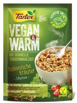 Tartex Vegan & Warm Italienische Kräuter Instant 60g