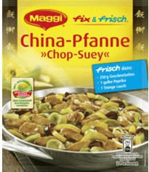 Maggi Appliances fix & frisch: China-Pfanne ´´Chop-Suey´´