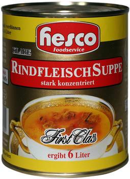 Hesco First Class Rindfleisch Suppe (5x212 ml)