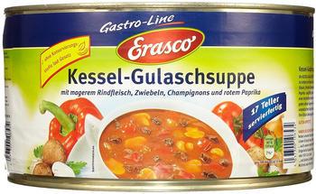 Erasco Kessel Gulaschsuppe mit magerem Rindfleisch Dose 4300g