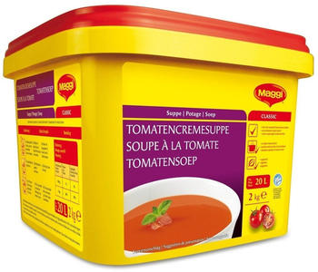 Maggi Classic Tomatencremesuppe Vorratspackung Fertigsuppe 2000g